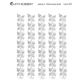 MyHobby Gümüş Simli Kolay Transfer 17x25cm A-S23