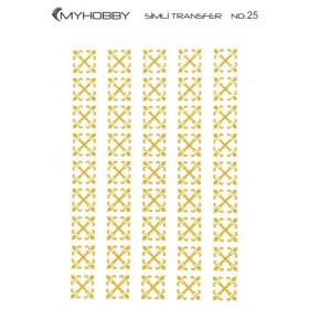 MyHobby Altın Simli Kolay Transfer 17x25cm A-S25