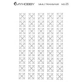 MyHobby Gümüş Simli Kolay Transfer 17x25cm A-S25