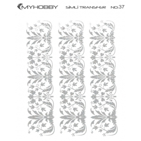 MyHobby Gümüş Simli Kolay Transfer 17x25cm A-S37