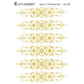 MyHobby Altın Simli Kolay Transfer 17x25cm A-S38