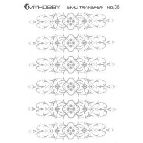 MyHobby Gümüş Simli Kolay Transfer 17x25cm A-S38