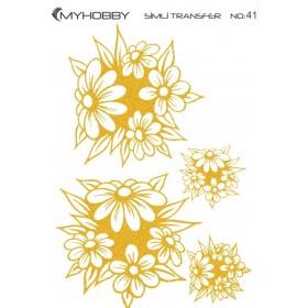 MyHobby Altın Simli Kolay Transfer 17x25cm A-S41