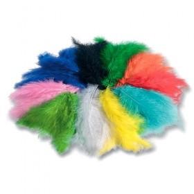 Folia Renkli Kuş Tüyleri 100gr