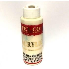 Texco 9072 Kemik 130 ml Akrilik Ahşap Boyası