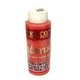 Texco 9081 Mercan 130 ml Akrilik Ahşap Boyası