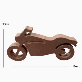 18mm Motosiklet Figür Ahşap Obje