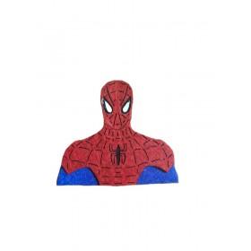 Örümcek Adam Gövde 8x7cm Keçe Süs
