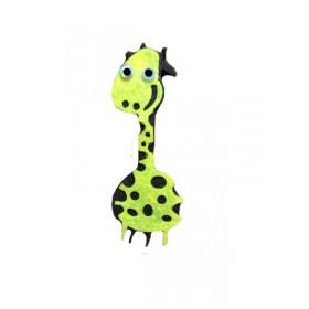 Mutlu Zürafa 6x2 cm Keçe Süs