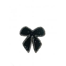 Kurdale - Siyah - Ütüyle Yapışan Taş