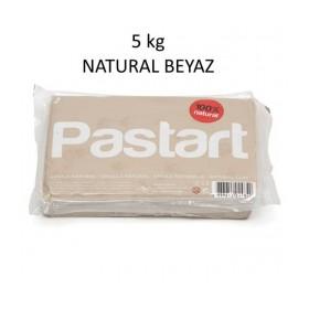 Pastart Doğal Model Kili BEYAZ 5 kg