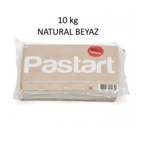 Pastart Doğal Model Kili BEYAZ 10 kg