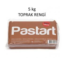 Pastart Havayla Kuruyan Seramik Hamuru TOPRAK 5000gr.
