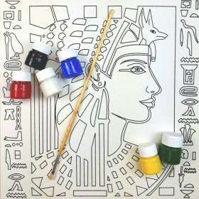 Artebella Tuval Boyama Seti 32x32 Antik Mısır