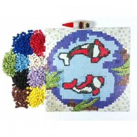 Artebella Seramik Mozaik Seti BALIKLAR