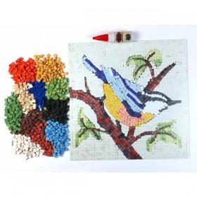 Artebella Seramik Mozaik Seti SEVİMLİ KUŞ