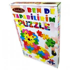 Artebella Puzzle 25 Parça SEVİMLİ ASLAN