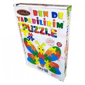 Artebella Puzzle 25 Parça KELEBEK
