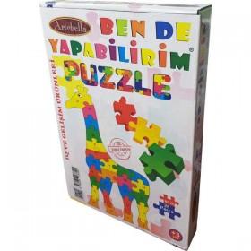 Artebella Puzzle 26 Parça ZÜRAFA
