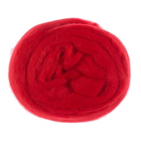 Kartopu  Yün Keçe Kırmızı K-125