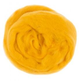 Kartopu Yün Keçe Koyu Sarı K-320