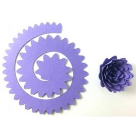 Quilling Spiral Çiçek 12'li Paket GERBERA-MOR