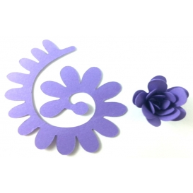 Quilling Spiral Çiçek 12'li Paket ANEMON-MOR