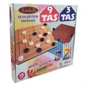 Artebella Akıl ve Zeka Oyunları 9TAŞ-3TAŞ