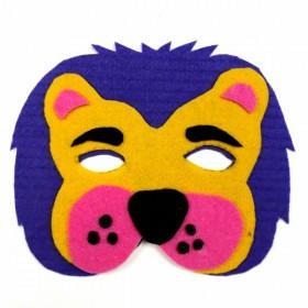 Artebella Keçe Maske Seti Sevimli Aslan