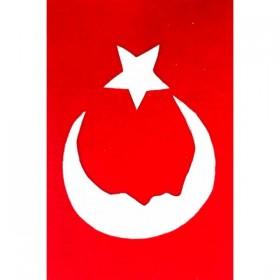 Artebella Keçe Pano Seti Türk Bayrağı