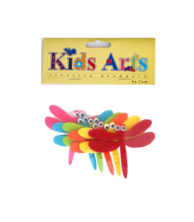 Kids Arts Keçe Sticker YUSUFÇUK