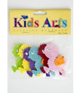 Kids Arts Keçe Sticker CİVCİV
