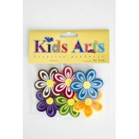 Kids Arts Keçe Sticker ÇİÇEK