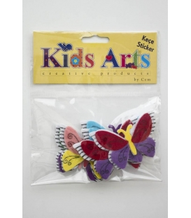Kids Arts Keçe Sticker KELEBEK