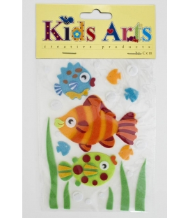 Kids Arts Keçe Sticker BALIK