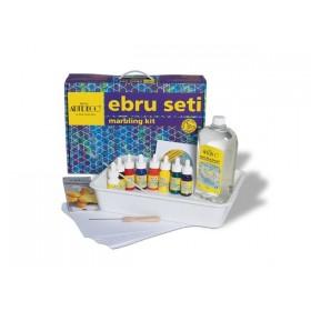 Artdeco Ebru Seti 25x35  -  15 Parça (8 Renk)