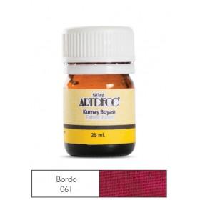 Artdeco Kumaş Boyası 061 Bordo