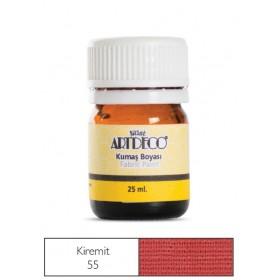 Artdeco Kumaş Boyası 55 Kiremit