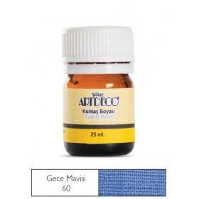Artdeco Kumaş Boyası 60 Gece Mavisi