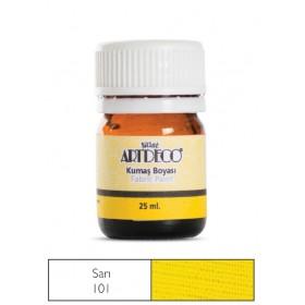 Artdeco Kumaş Boyası 101 Sarı