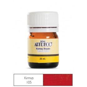 Artdeco Kumaş Boyası 105 Kırmızı