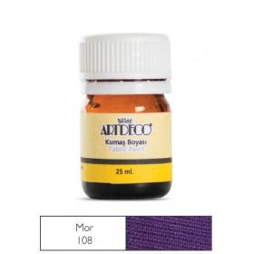 Artdeco Kumaş Boyası 108 Mor
