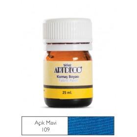 Artdeco Kumaş Boyası 109 Açık Mavi