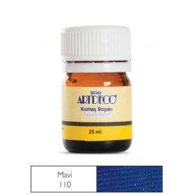 Artdeco Kumaş Boyası 110 Mavi