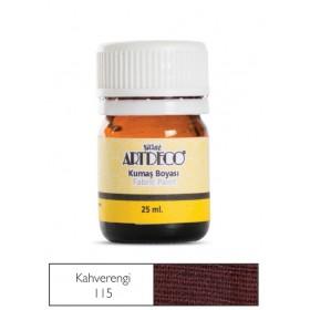 Artdeco Kumaş Boyası 115 Kahverengi