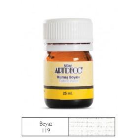 Artdeco Kumaş Boyası 119 Beyaz