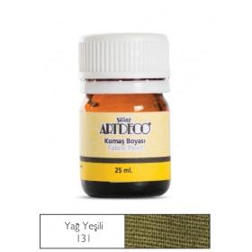 Artdeco Kumaş Boyası 131 Yağ Yeşili