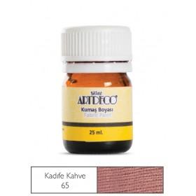 Artdeco Kumaş Boyası 65 Kadife Kahve
