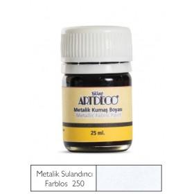 Artdeco Metalik Kumaş Boyası 250 Farblos (İnceltici)