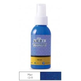 1210 Mavi Artdeco Sprey Kumaş Boyası 100 ml